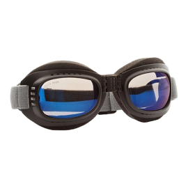 Hundebrille Cool II - schwarz, blau – Größe L