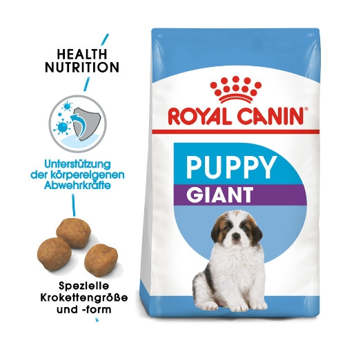 Royal Canin GIANT Puppy Welpenfutter trocken für sehr große Hunde