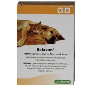 Relaxan 30 Tabletten für Hunde und Katzen von cp-pharma - Umverpackung defekt