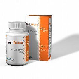VetoMune 60 Kapseln für Hund und Katzen von VetExpert