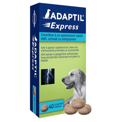 ADAPTIL Express Kautabletten 40 Kautabletten Beruhigungsmittel für Hunde von CEVA