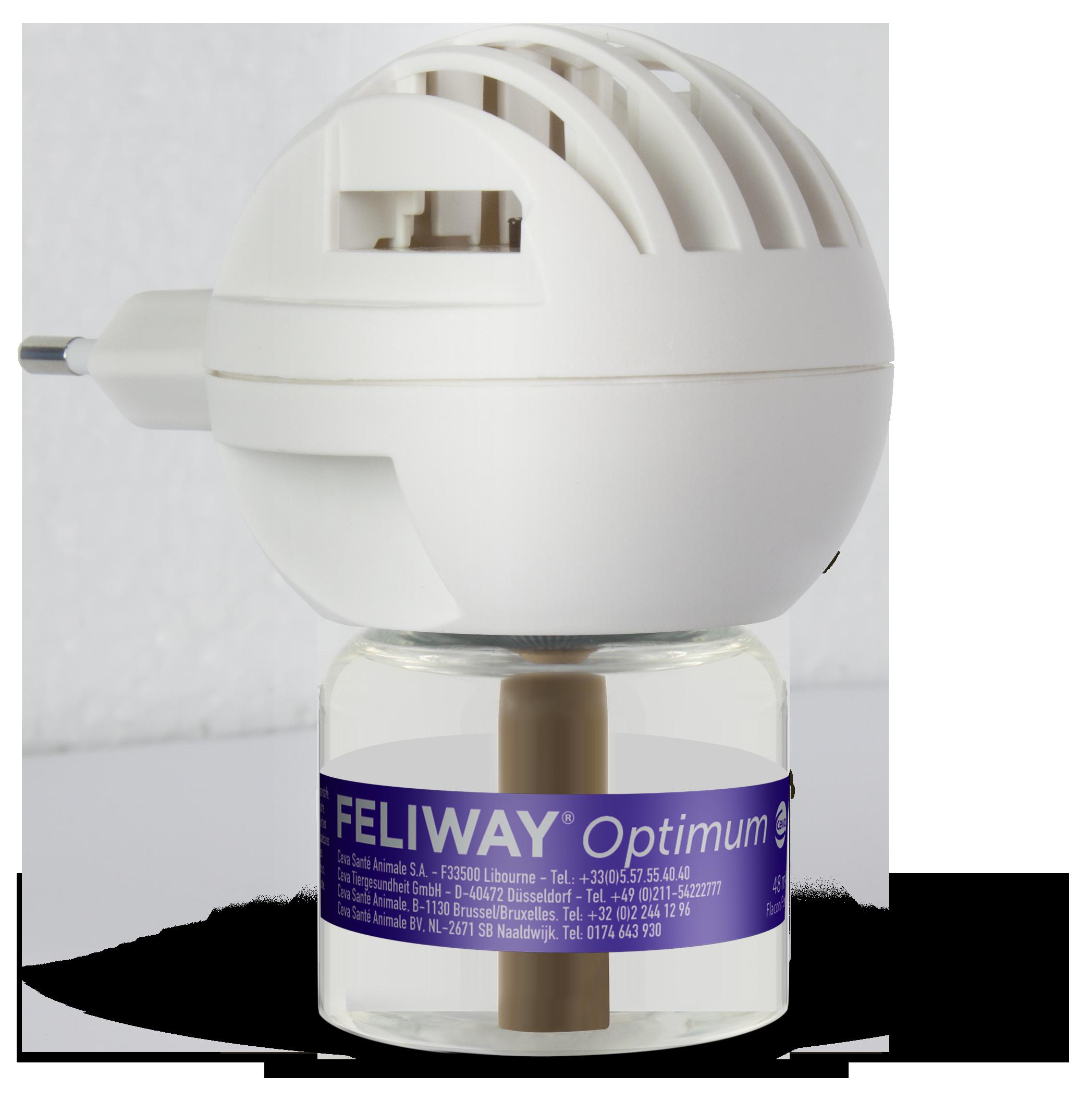 Feliway OPTIMUM Start-Set von Ceva (Stecker & 48ml Flakon)