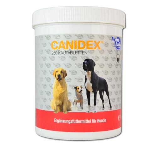 Canidex 250 Kautabletten für Hunde von NutriLabs