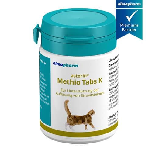 astorin Methio Tabs 100 für Katzen mit Struvitsteinen von almapharm