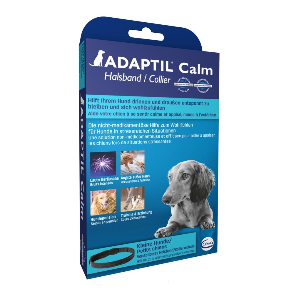 ADAPTIL Calm Halsband Beruhigungsmittel für kleine Hunde & Welpen von CEVA