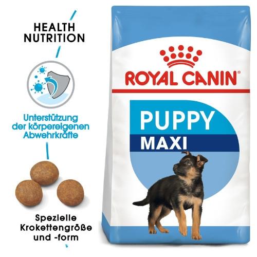 Royal Canin MAXI Puppy Trockenfutter für Welpen großer Rassen