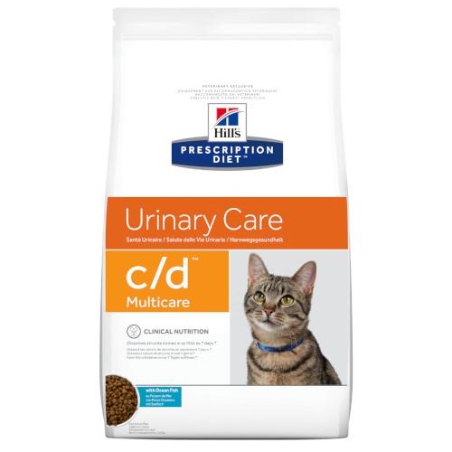 Hill's Prescription Diet c/d Multicare Meeresfisch feline Trockenfutter
