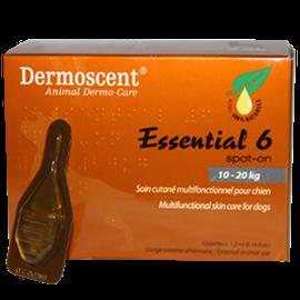 Selectavet Dermoscent Essential 6 Hund (10-20 kg) 4 Pipetten x 1,2ml