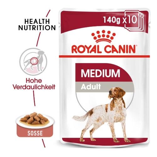 Royal Canin MEDIUM Adult Trockenfutter für mittelgroße Hunde
