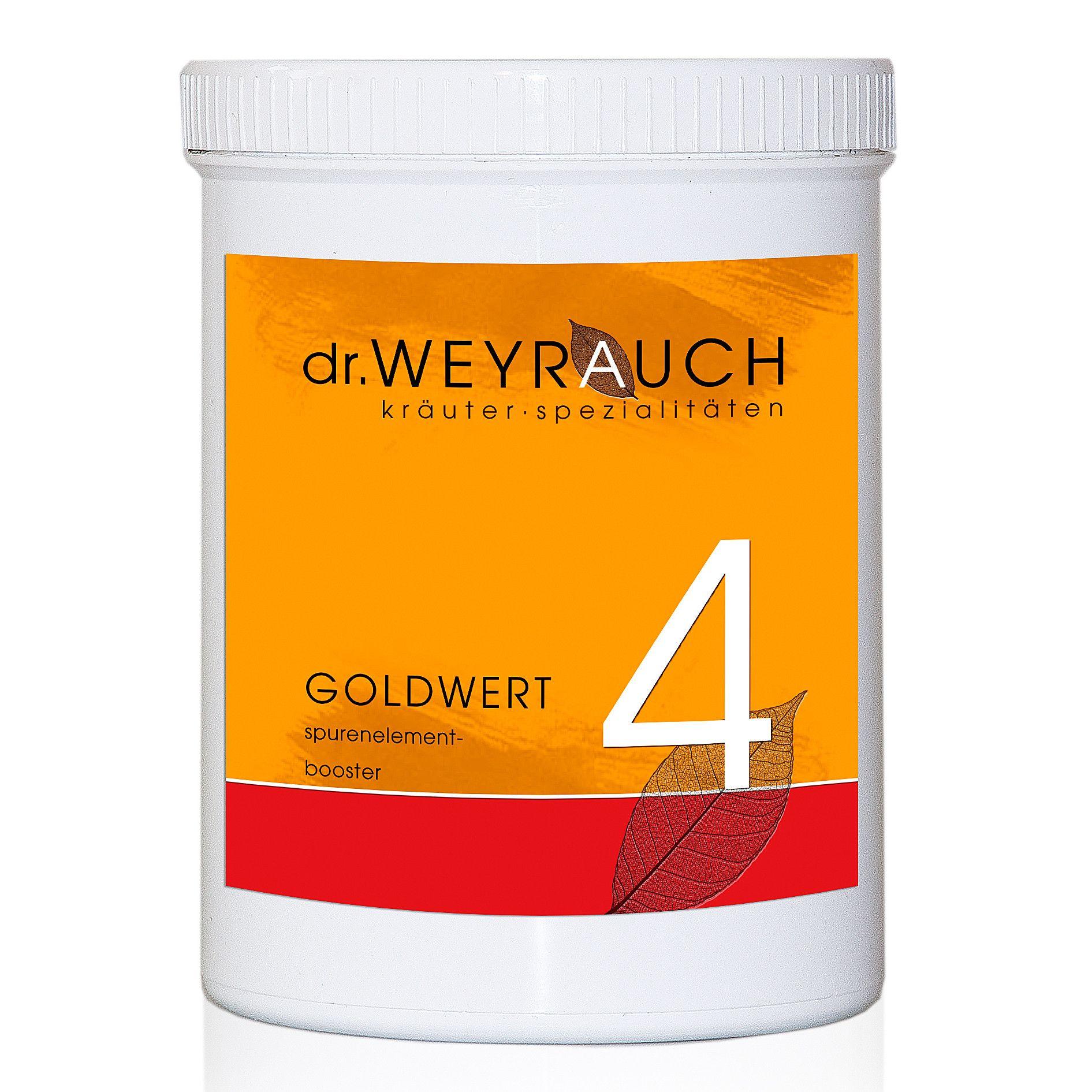 Dr. Weyrauch Nr. 4 Goldwert
