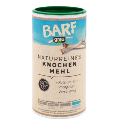 Grau naturreines Knochenmehl für Hunde