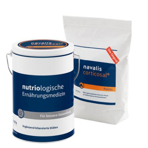 corticosal 2000g zur Untersützung bei Stressreaktionen für Pferde von navalis