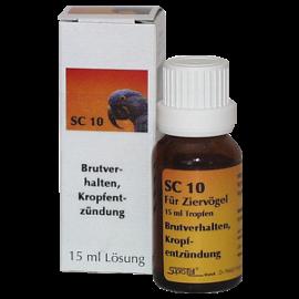 Supra-Cell homöopathisches Arzneimittel für Vögel SC 10 Brutverhalten