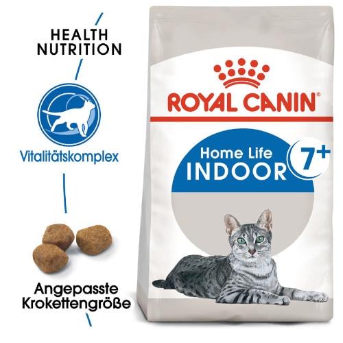 Royal Canin INDOOR 7+ Trockenfutter für ältere Wohnungskatzen
