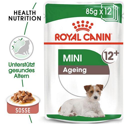 Royal Canin MINI AGEING 12+ Nassfutter für ältere kleine Hunde