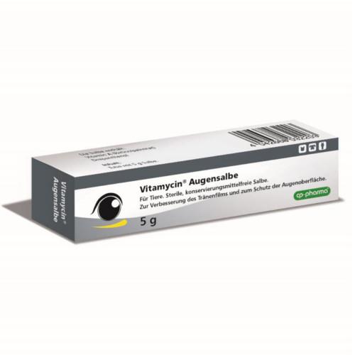 Vitamycin Augensalbe