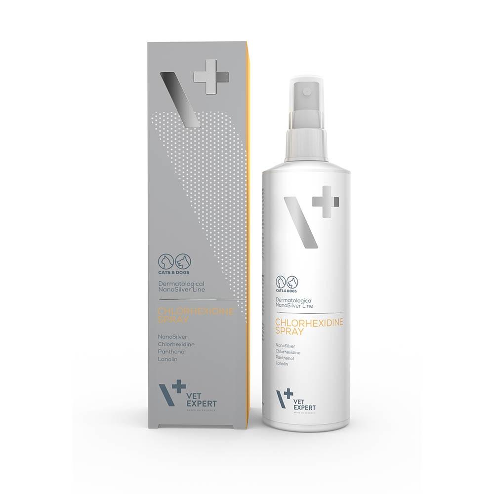 DSL Chlorhexidine + Nanosilver Spray von VetExpert