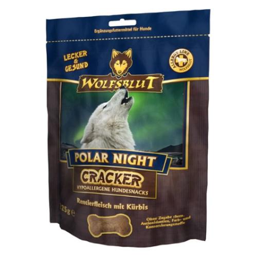 Wolfsblut Cracker Polar Night getreidefreie Hundekekse mit 51% Rentierfleisch