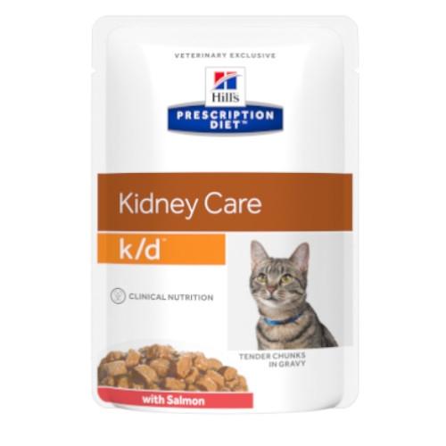Hill's Prescription Diet k/d feline – mit Lachs