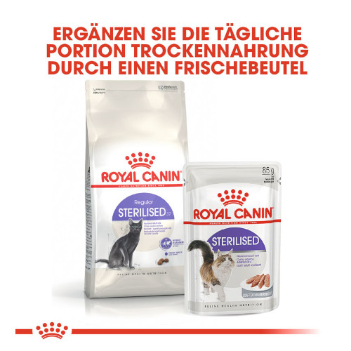 Royal Canin Sterilised Nassfutter in Soße für Katzen