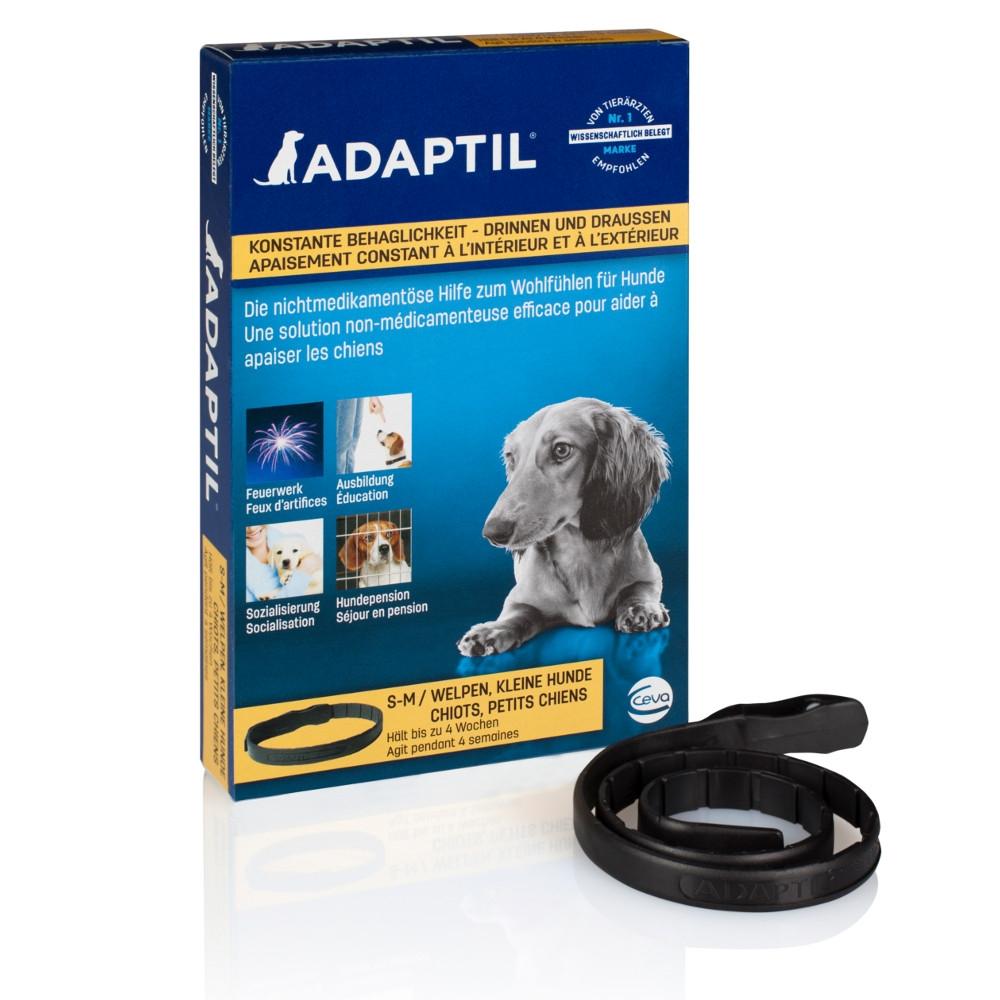 ADAPTIL Halsband Beruhigungsmittel für kleine Hunde & Welpen von CEVA