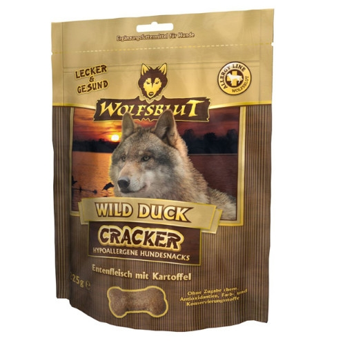 Wolfsblut Cracker Wild Duck für Hunde 6 x 225g