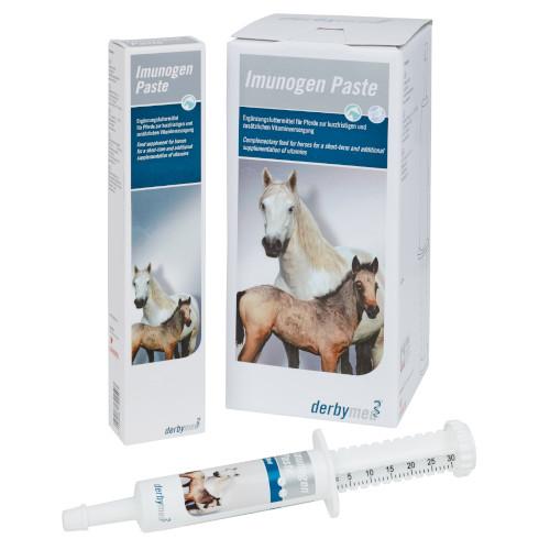 derbymed Imunogen Paste für Fohlen und Pferde bei Immunschwäche von Livisto 6 x 30ml