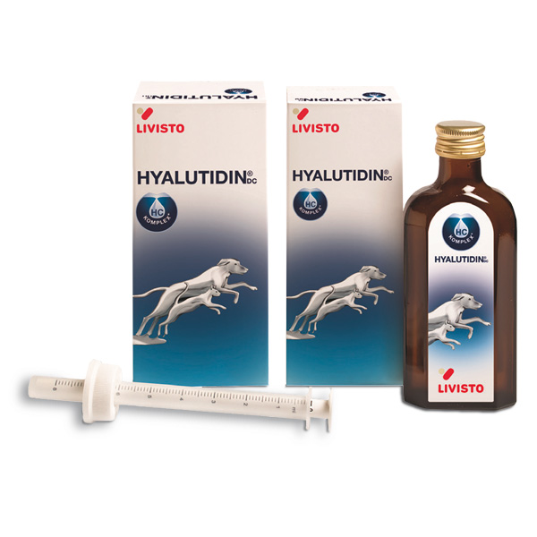 Hyalutidin DC für Hunde und Katzen bei Gelenkproblemen von Livisto