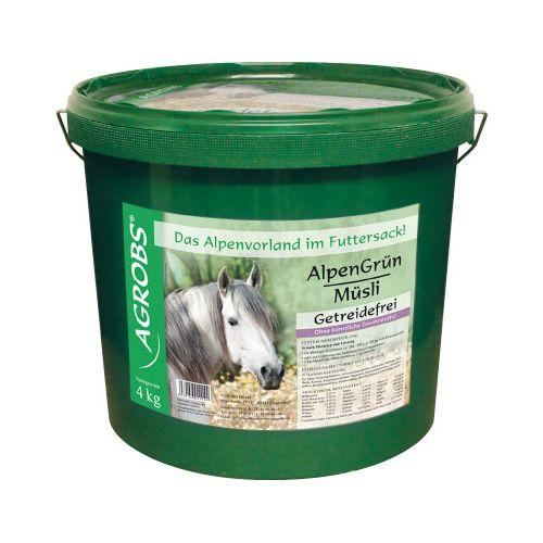 Agrobs AlpenGrün MÜSLI 4 kg Eimer
