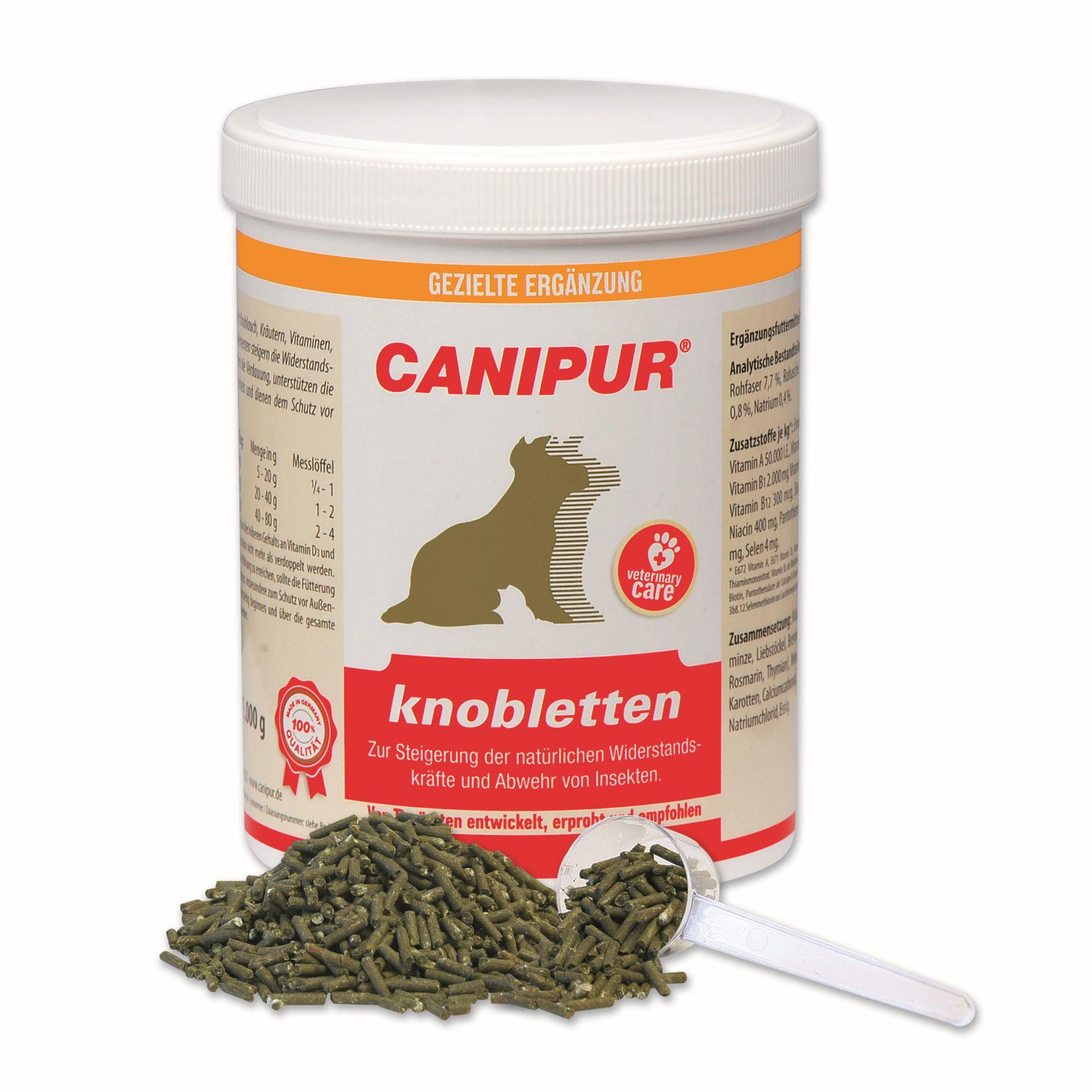 Vetripharm Canipur knobletten