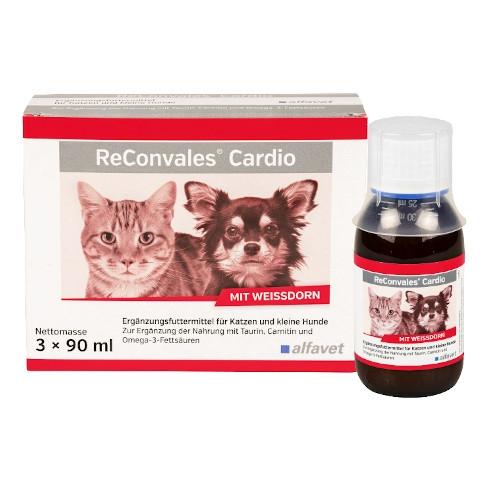 ReConvales Cardio für Hunde und Katzen zur Ergänzung der Nahrung von alfavet