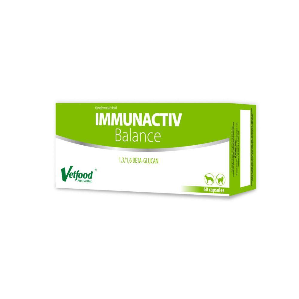 Immunactiv balance Kapseln für Hunde und Katzen von Vetfood