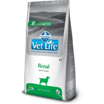 Farmina Vet Life Dog Renal 2kg Trockenfutter für Hundey