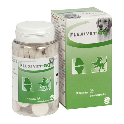 CEVA Flexivet Go 60 Tabletten zur Unterstützung des Gelenkaufbaus für Hunde