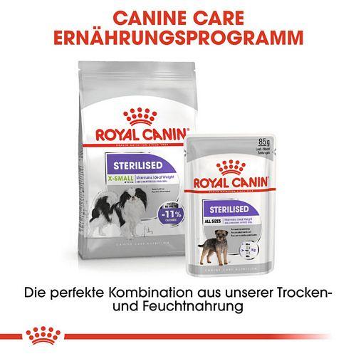 Royal Canin STERILISED X-SMALL Trockenfutter für kastrierte sehr kleine Hunde
