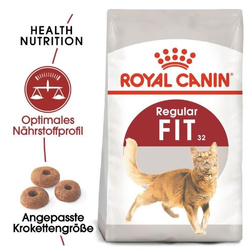 Royal Canin FIT 32 Regular Trockenfutter für aktive Katzen
