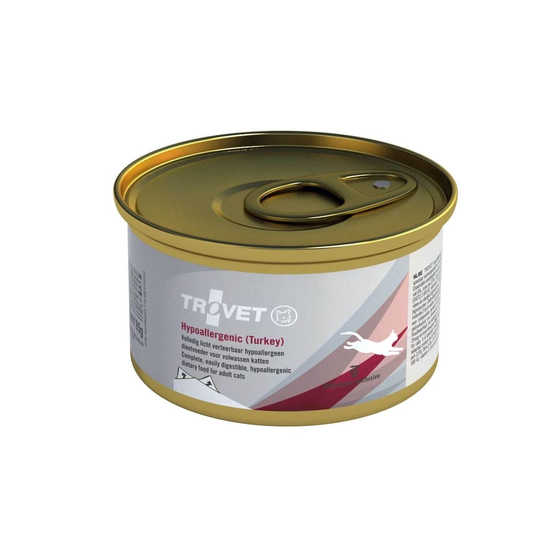 Trovet Hypoallergenic Truthahn + Reis 85g Nassfutter für Katzen