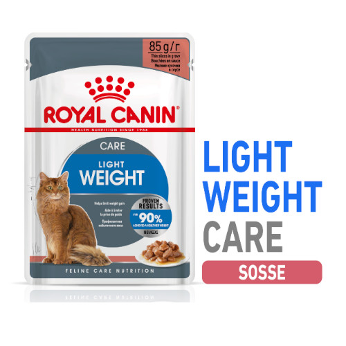 Royal Canin LIGHT WEIGHT in Soße Nassfutter für Katzen