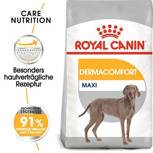 Royal Canin DERMACOMFORT MAXI Trockenfutter für große Hunde mit empfindlicher Haut