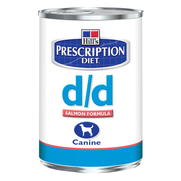 Hill`s Prescription Diet d/d canine Lachs