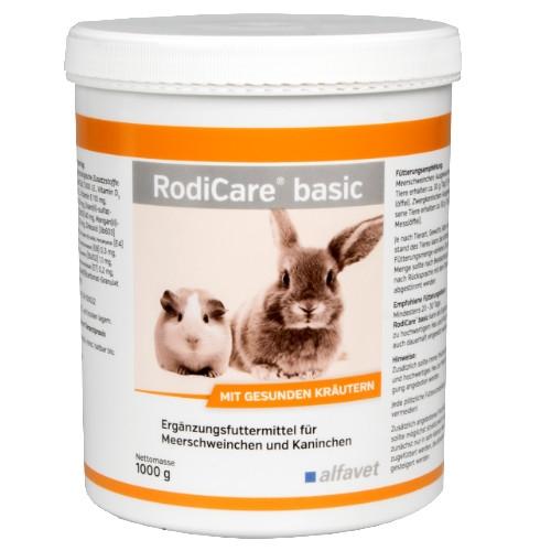 RodiCare basic bei Verdauungsstörungen für Heimtiere von alfavet