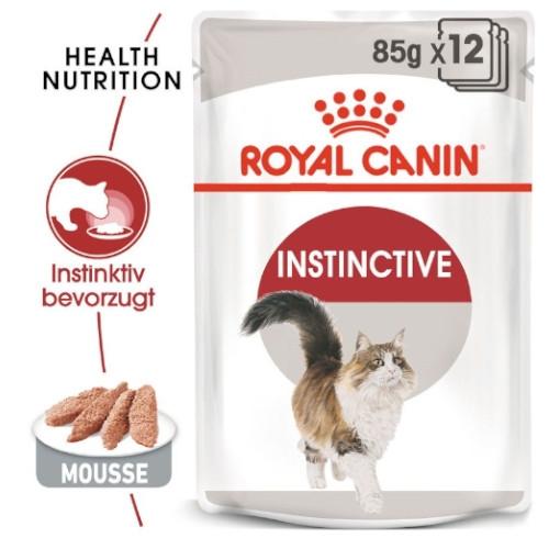 Royal Canin INSTINCTIVE Katzenfutter nass Mousse