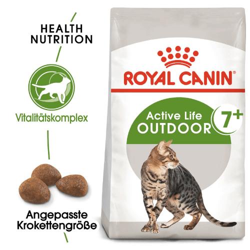 Royal Canin Outdoor 7+ Trockenfutter für Katzen ab 7 Jahre