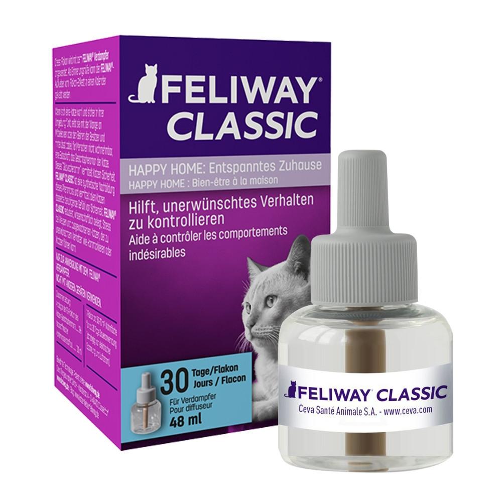 Feliway Nachfüllflacon zur Beruhigung und Entspannung für Katzen von Ceva