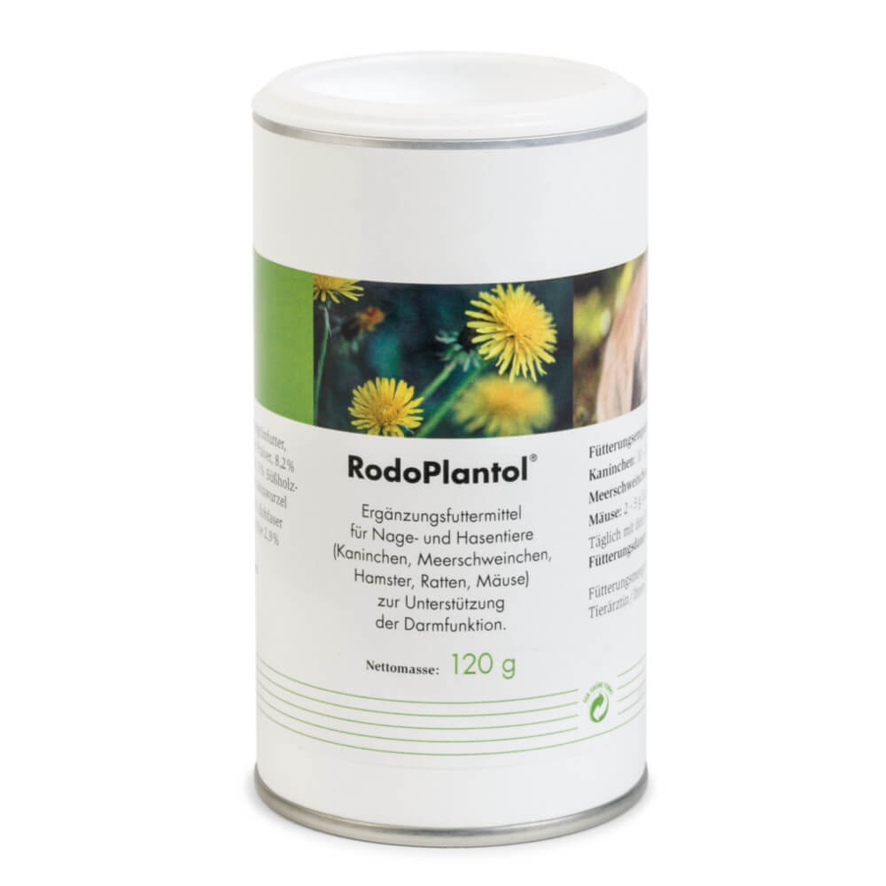 RodoPlantol für Kaninchen, Hasen und Nagetiere zur Unterstützung der Darmfunktion von PlantaVet
