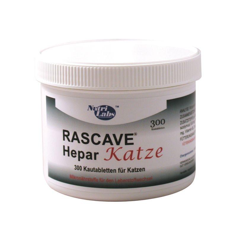 NutriLabs Rascave hepar Katze 300 Tabletten