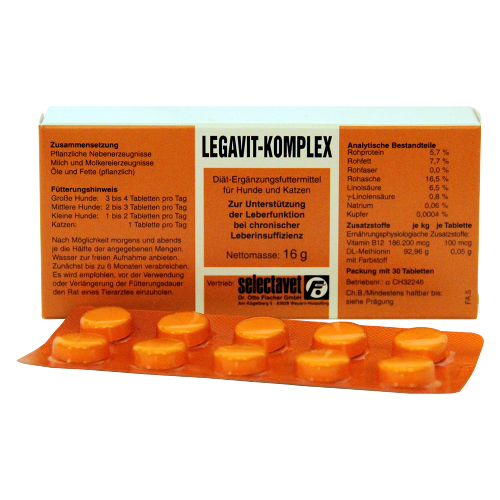Selectavet LEGAVIT KOMPLEX 30 Tabletten