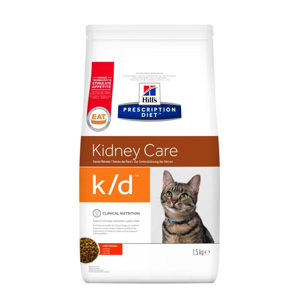 Hill's Prescription Diet k/d feline mit Huhn Trockenfutter