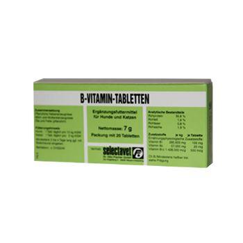 Selectavet B-Vitamin-Tabletten 20 Tabletten - Umverpackung defekt