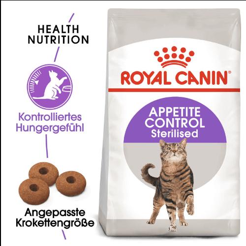 Royal Canin Appetite Control Sterilised Trockenfutter für Katzen